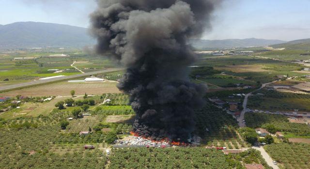 Geri dönüşüm tesislerindeki yangınların sayısı korkutuyor