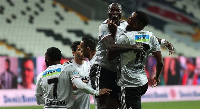 Beşiktaş farklı galibiyetle liderliğini sürdürdü