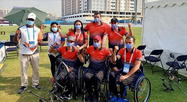 Paralimpik okçulardan Dubai'de 4 madalya