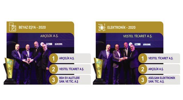 Elektrik ve Elektronik İhracatçıları Birliği 'İhracat Başarı Ödülleri' sahiplerini buldu