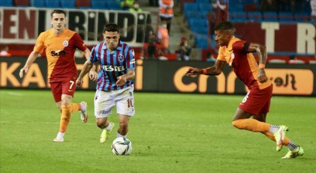 Galatasaray ile Trabzonspor yenişemedi