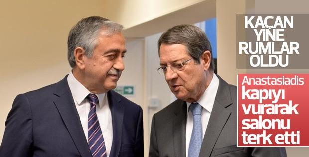 Kıbrıs müzakerelerinde gerginlik