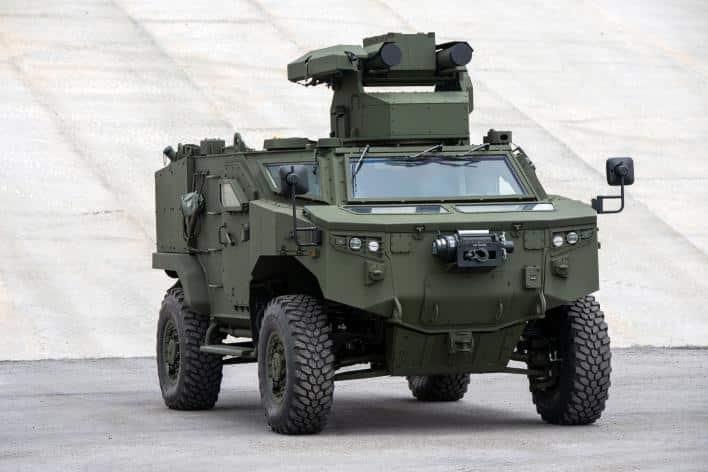 """""""Silah Taşıyıcı Araçlar Projesi""""nde ilk araçlar envantere girdi"""