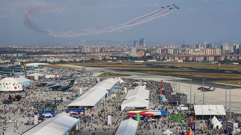 TEKNOFEST 3 günde 416 bin ziyaretçiyi ağırladı