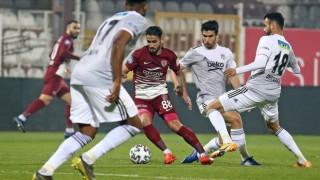 Beşiktaş'ın serisi Hatay'da sona erdi
