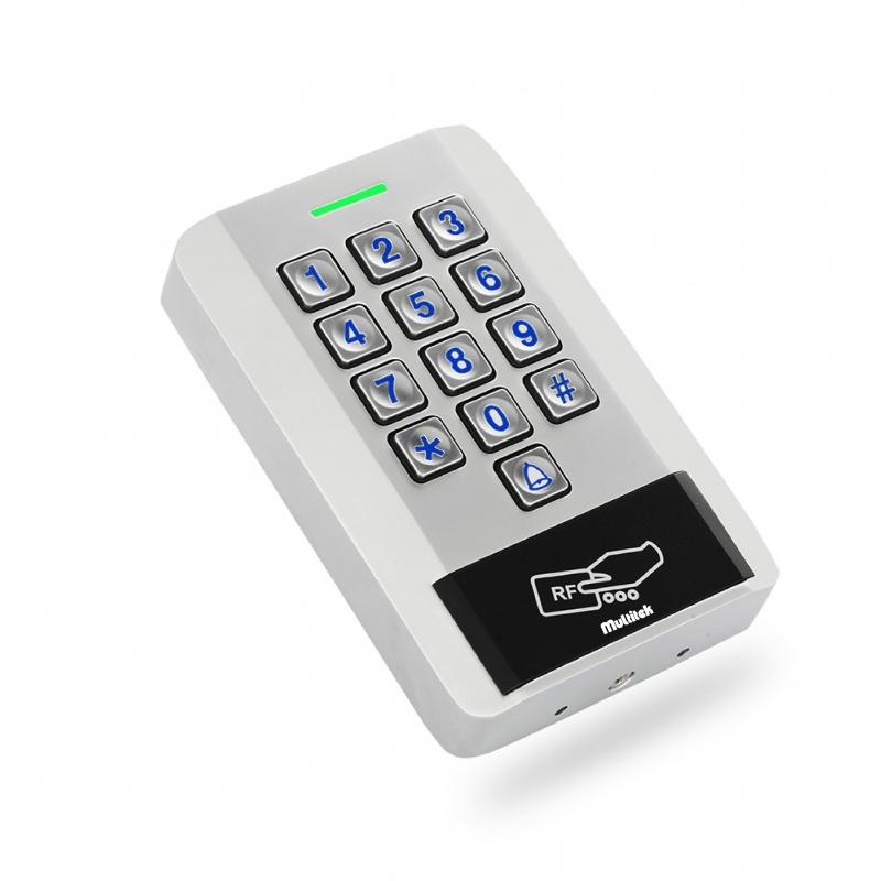 Multitek'ten Yeni bir ürün; Kartlı ve Şifreli Giriş Cihazı